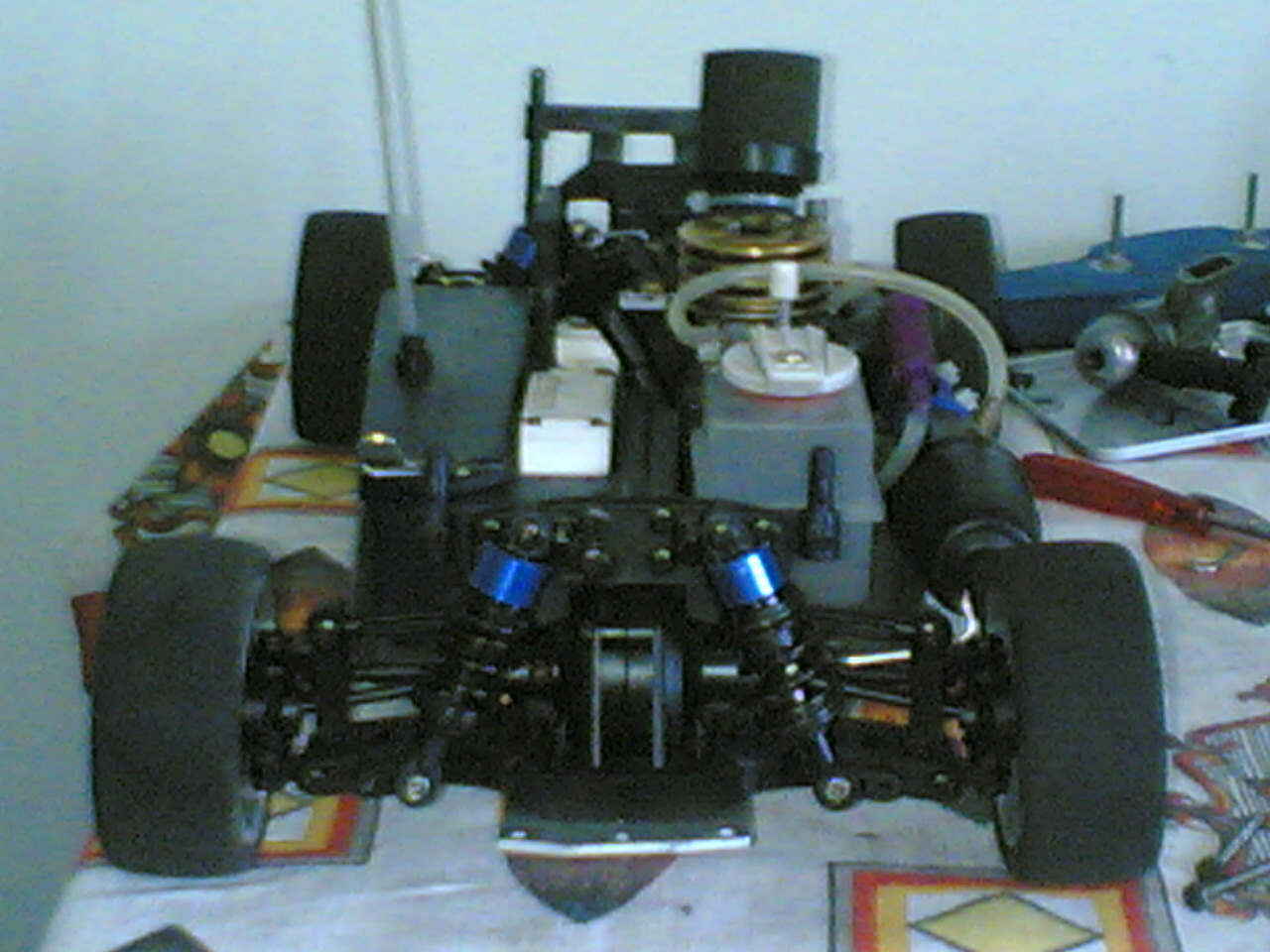Reglage moteur kyosho gx12